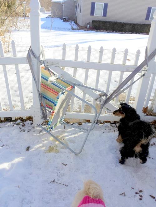 Redneck fence repair