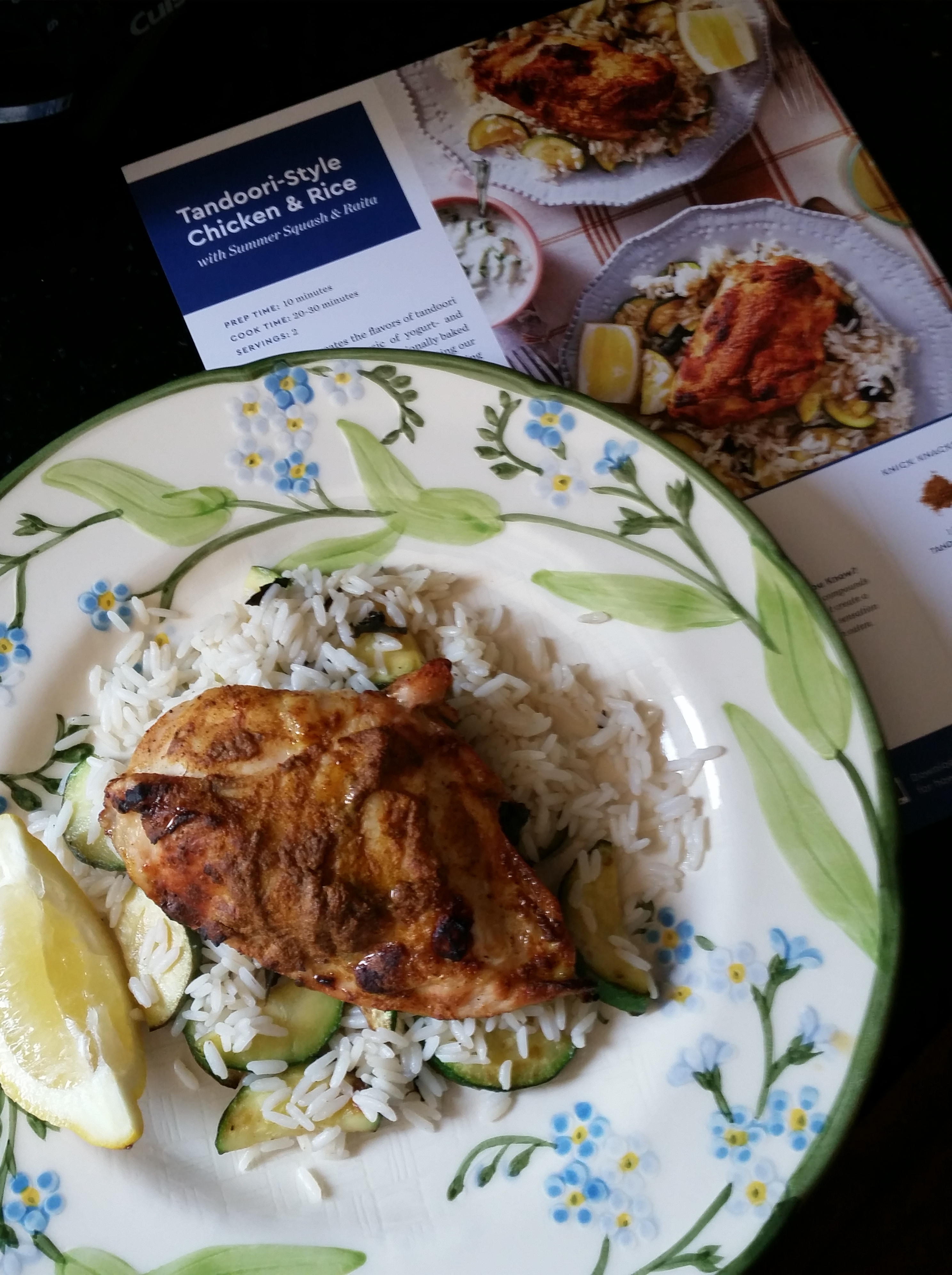 Blue apron greek chicken - To Blue Apron Or Not To Blue Apron Part Three Kate Mahar Writes