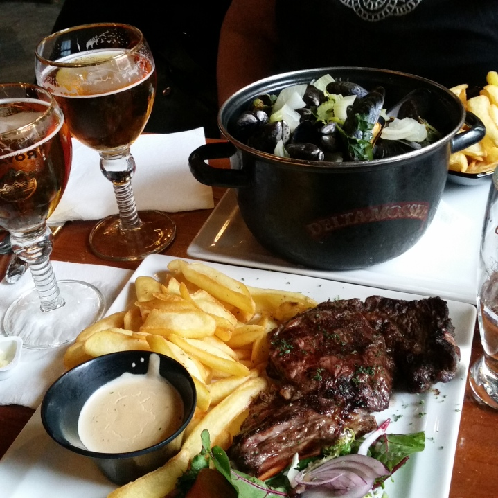 dinner in Brussels