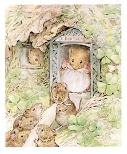 Beatrix Potter Mrs T and babies