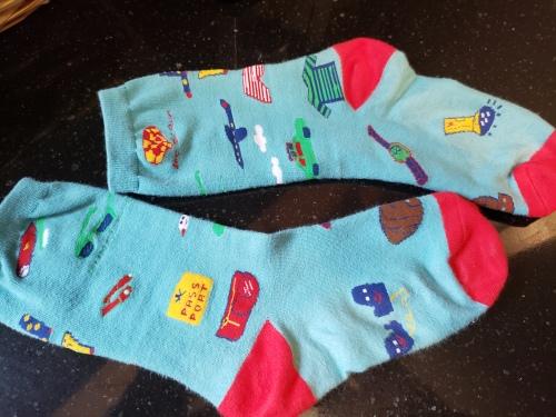 socks overall