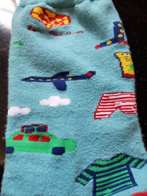 socks plane underpants